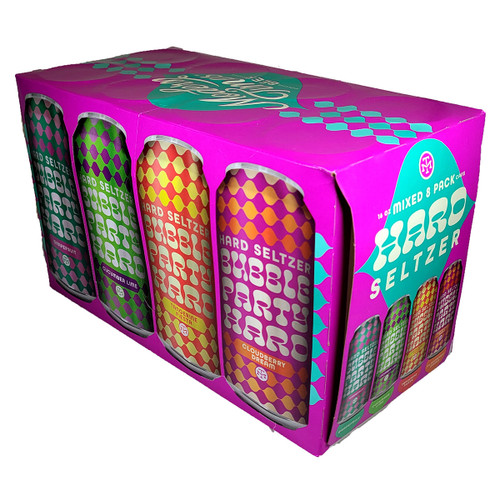 Modern Times Bubble Party Hard Seltzer Mixed 8-Pack Can