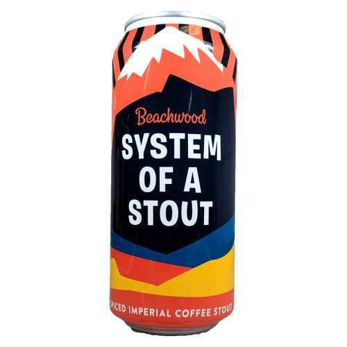 Beachwood System Of A Stout Spiced Imperial Coffee Stout Can
