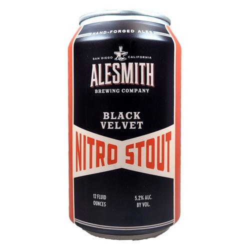 AleSmith Black Velvet Nitro Stout Can