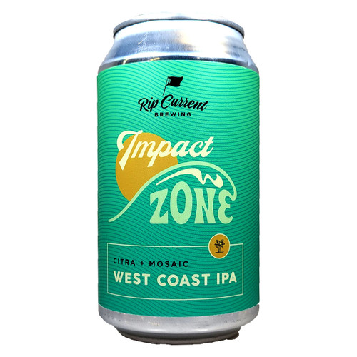 Rip Current Impact Zone West Coast IPA Can