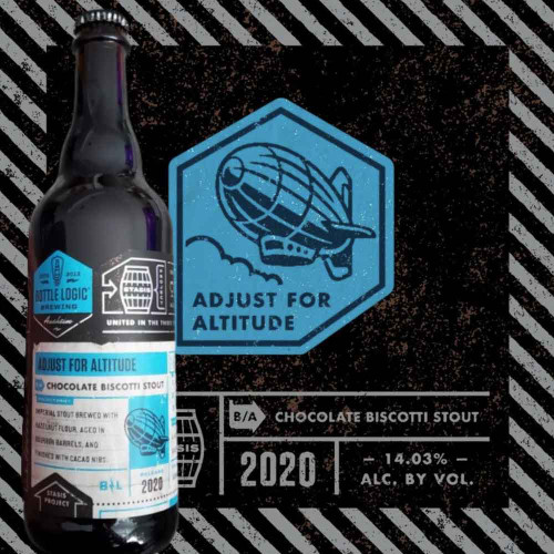Bottle Logic Adjust For Altitude Chocolate Biscotti Stout 2020