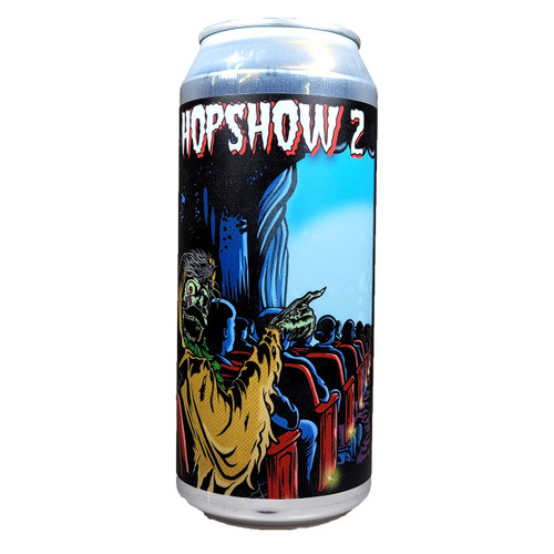 Mason Ale Works / Beer Zombies Hopshow 2 Double Dry Hopped Double Hazy IPA Can