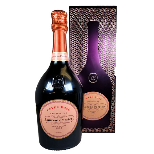 Laurent-Perrier Cuvee Rose w/ Silhouette Gift Tin