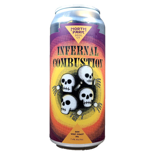 North Park Infernal Combustion DDH West Coast IPA Can