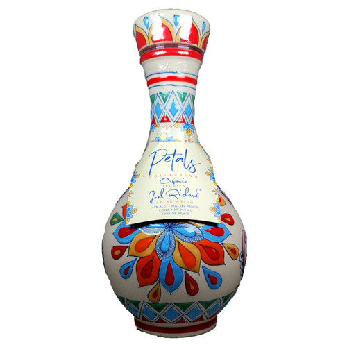 Petals Collection Extra Anejo Tequila Ceramic Bottle