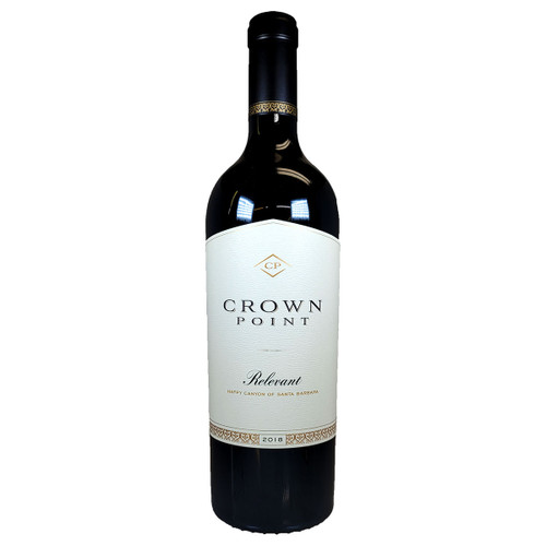Crown Point 2018 Relevant Red, 750ml