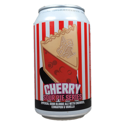 4 Sons Sour Pie Series Cherry Can, 12OZ