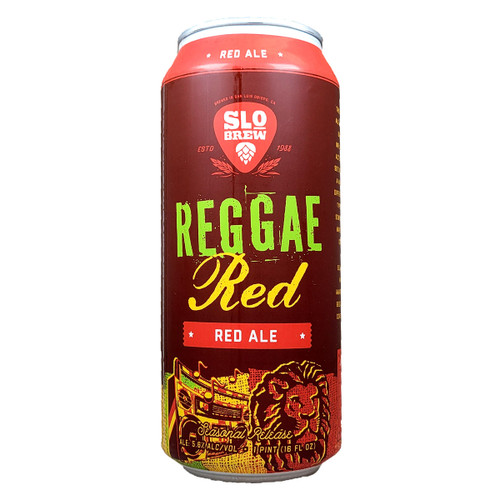 SLO Brew Reggae Red Ale Can