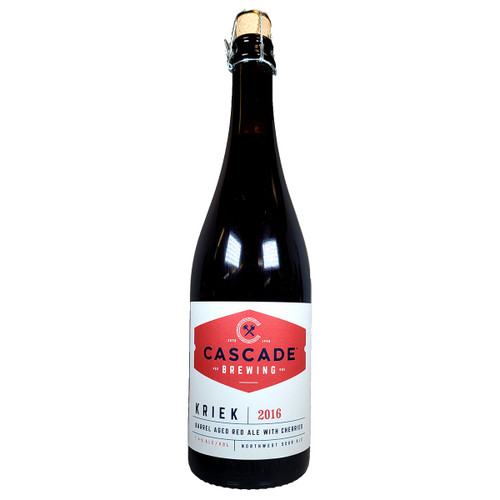 Cascade Kriek Barrel-Aged Red Ale 2016
