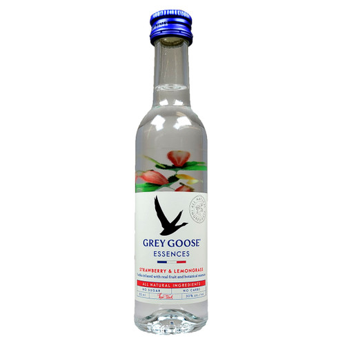 Grey Goose Essences Strawberry & Lemongrass Vodka 50ML