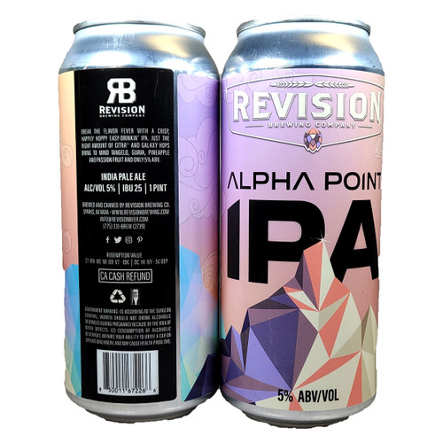 Revision Alpha Point IPA Can