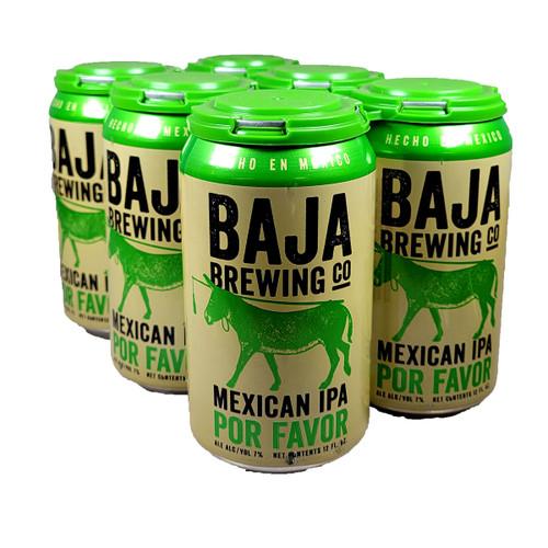 Baja Brewing Por Favor Mexican IPA 6-Pack Can