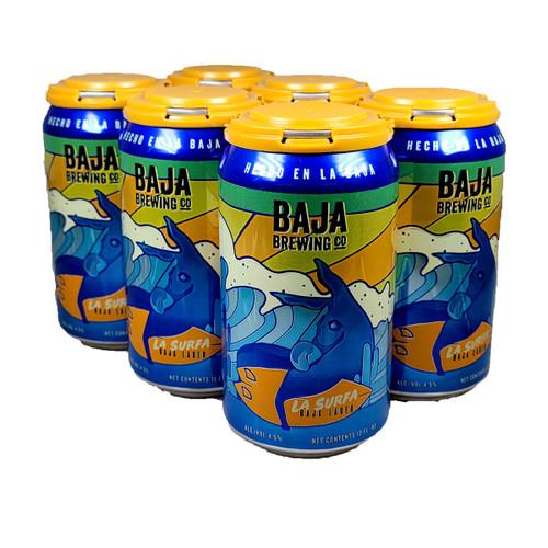Baja Brewing La Surfa Baja Lager 6-Pack Can