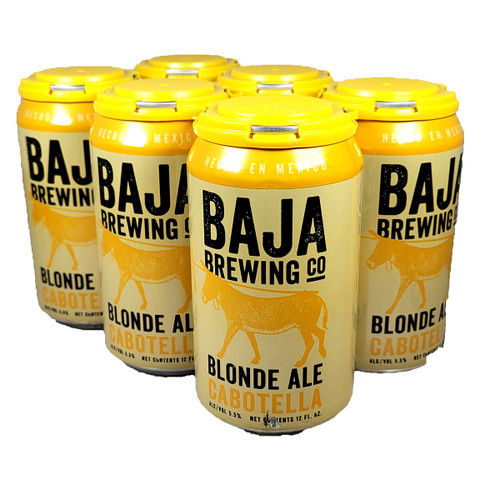 Baja Brewing Cabotella Blonde Ale 6-Pack Can