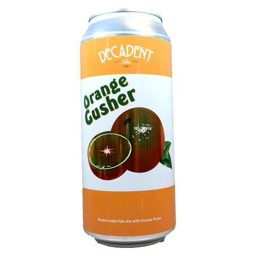 Decadent Ales Orange Gusher Double IPA Can