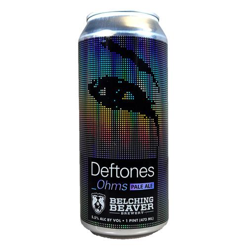 Belching Beaver Deftones Ohms Pale Ale 4-Pack Can