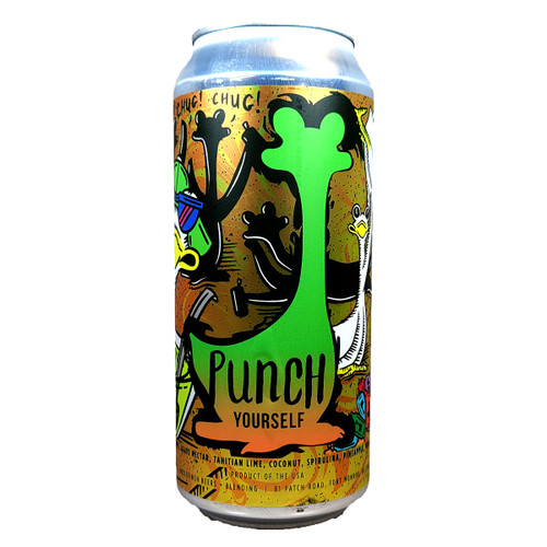 Oozlefinch Punch Yourself Sour Ale Can