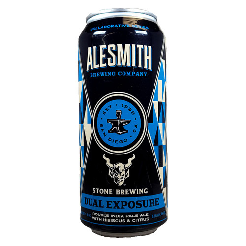 AleSmith / Stone Dual Exposure Double IPA Can