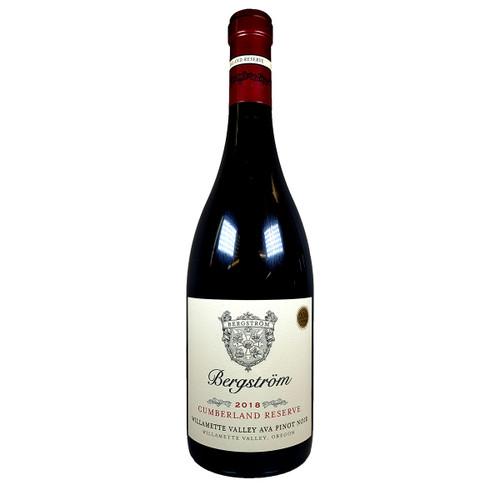 Bergstrom 2018 Cumberland Reserve Pinot Noir
