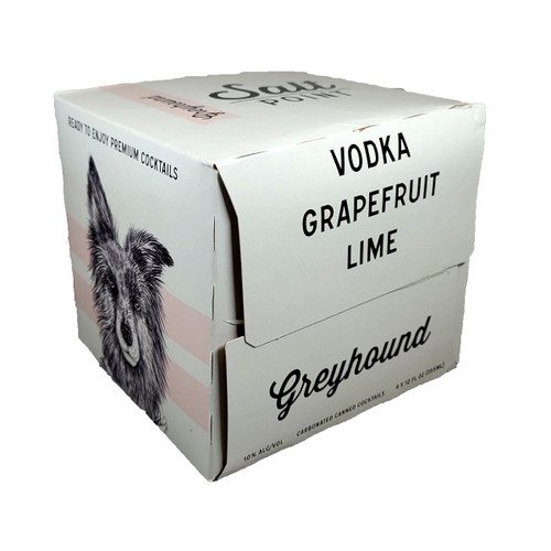 Salt Point Greyhound Ready-To-Drink Cocktail 4-Pack Can 12oz