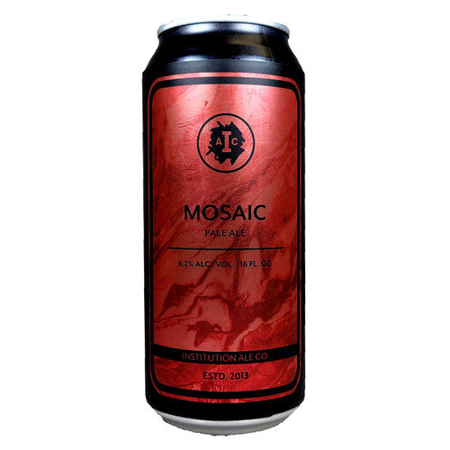 Institution Mosaic Pale Ale Can