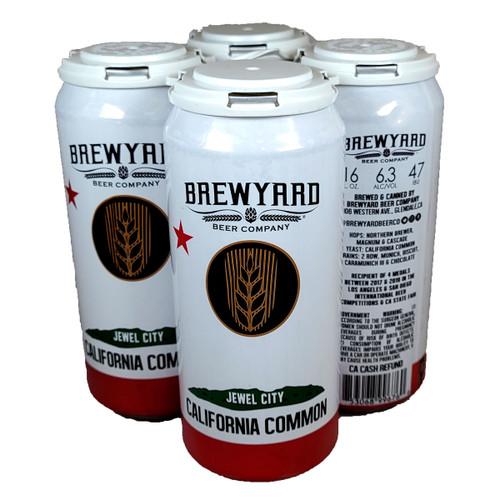 Brewyard Jewel City California Common 4-Pack Can