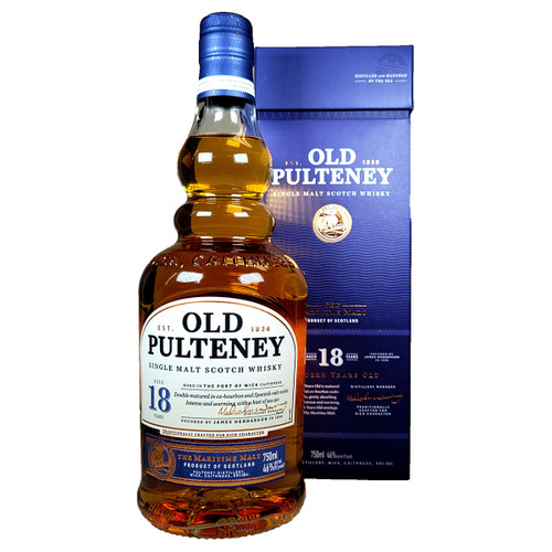 Old Pulteney 18 Year Single Malt Scotch Whisky