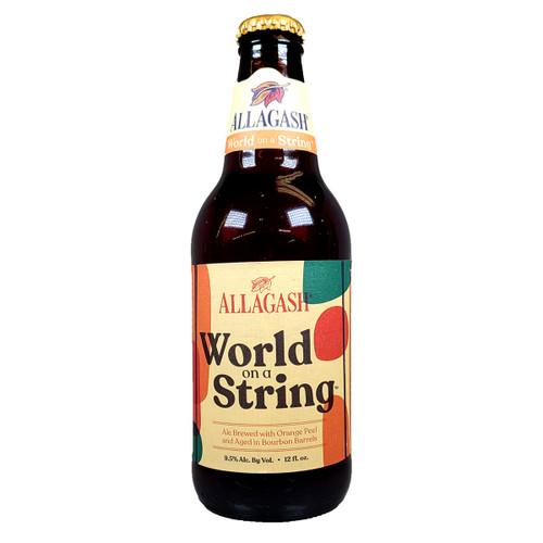 Allagash World On A String Bourbon Barrel Aged Ale