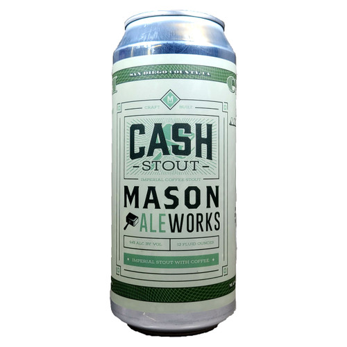 Mason Ale Works Cash Imperial Stout with Coffee Can