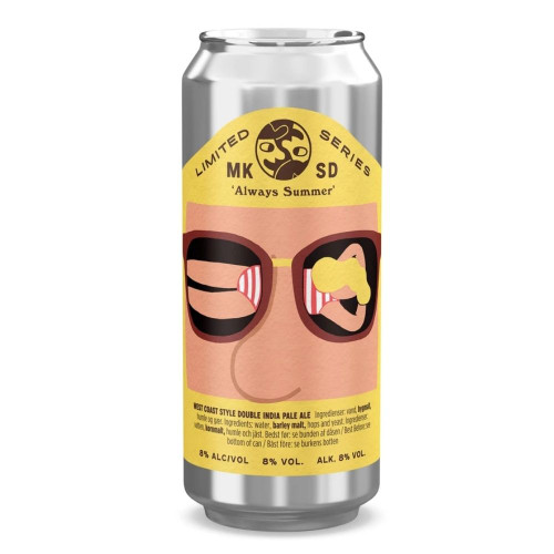 Mikkeller SD Always Summer West Coast Style Double IPA Can-LIMITED