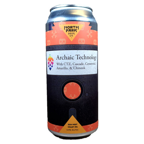 North Park Archaic Technology DDH West Coast IPA Can
