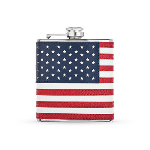 American Flag Flask By Foster & Rye