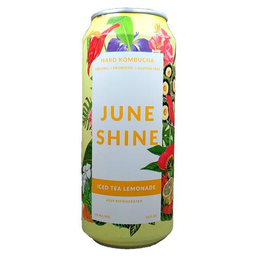 JuneShine Iced Tea Lemonade Kombucha Can