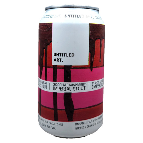 Untitled Art Chocolate Raspberry Imperial Stout Can