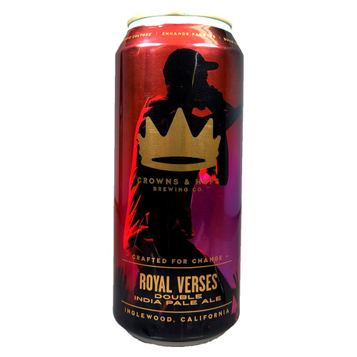 Crowns & Hops Royal Verses Double IPA Can
