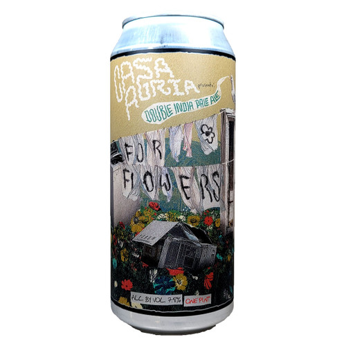 Casa Agria For Flowers Double IPA Can