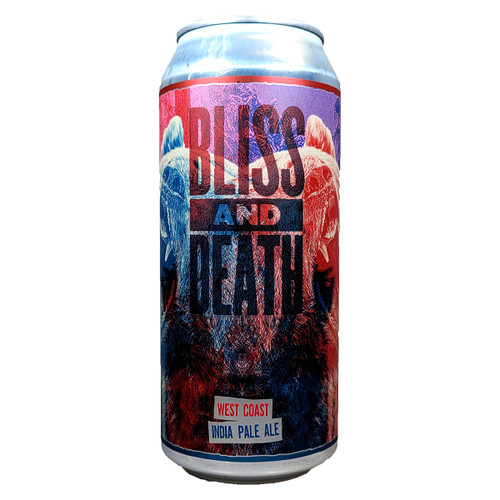 Casa Agria Bliss And Death West Coast IPA Can