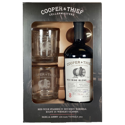 Cooper & Thief 2017 Bourbon Red Gift Pack