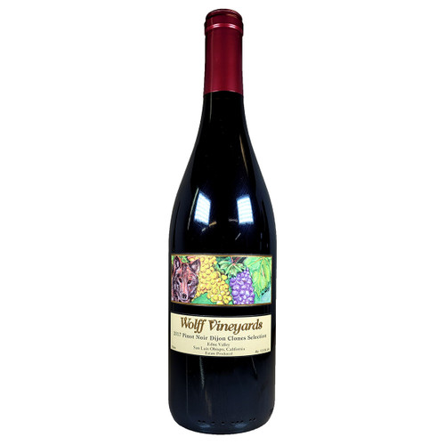 Wolff 2017 Dijon Clones Selection Pinot Noir