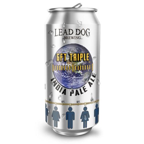 Lead Dog 6FT Triple IPA Can