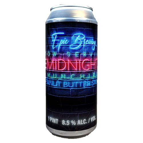 Epic Brewing Midnight Munchies Peanut Butter Stout Can
