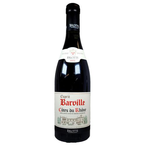 Brotte 2017 Esprit Barville Cotes du Rhone Rouge