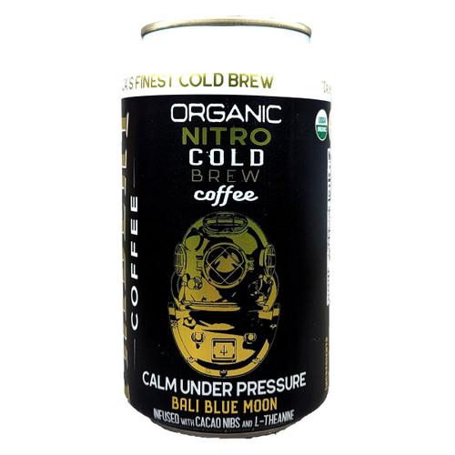Trident Calm Under Pressure Organic Nitro Cold Brew Coffee Can