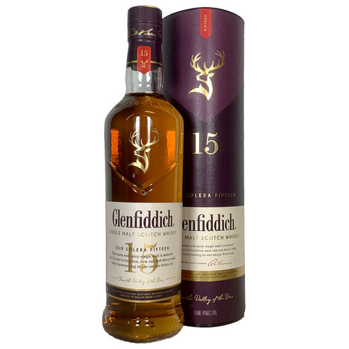 Glenfiddich 15 Year Solera Single Malt Scotch Whisky