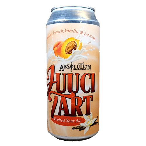 Absolution Juuci Tart Apricot and Peach Fruited Sour Ale Can