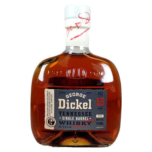 George Dickel 15 Year Single Barrel Tennessee Whisky