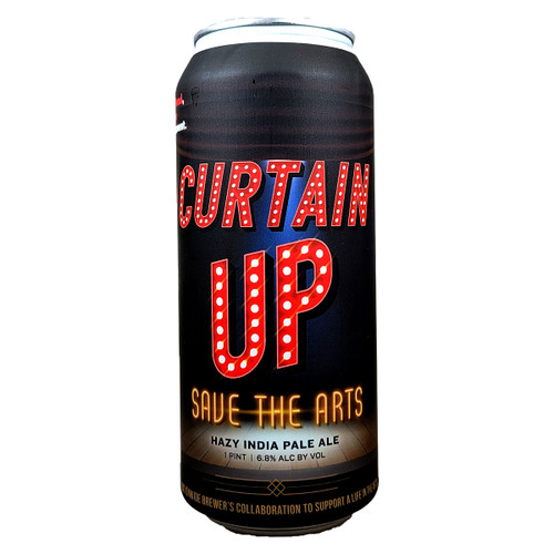 Pariah Curtain Up Hazy IPA Can