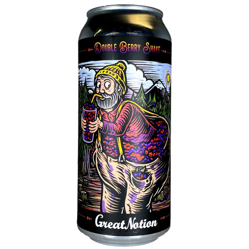 Great Notion Double Berry Shake Tart Ale 16oz Can