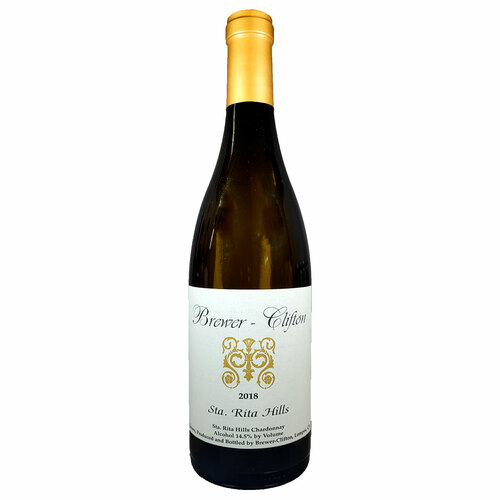 Brewer Clifton 2018 Sta. Rita Hills Chardonnay