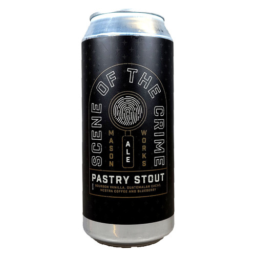 Mason Ale Works Scene Of The Crime Pastry Stout Can